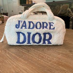 RARE!!Vintage Christian Dior J'ADORE DIOR LOGO Bag